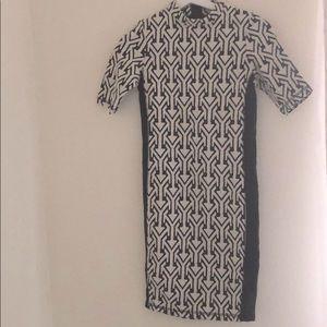 ASOS cotton/poly blend stretch dress